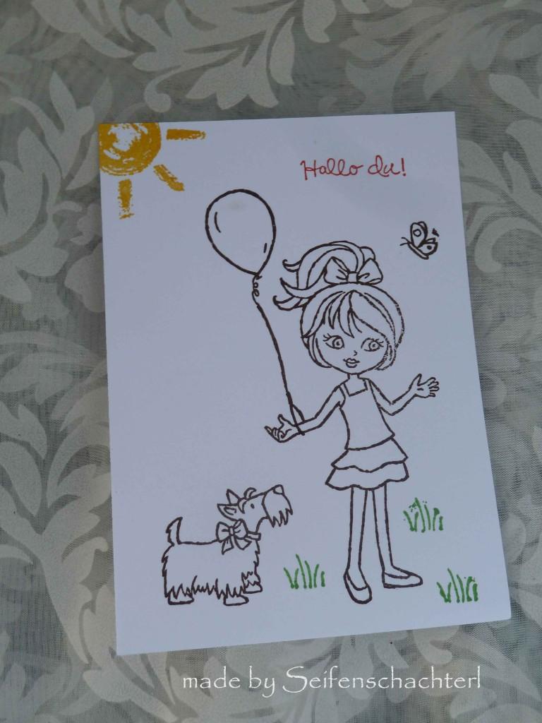 Postkarte-Mädi