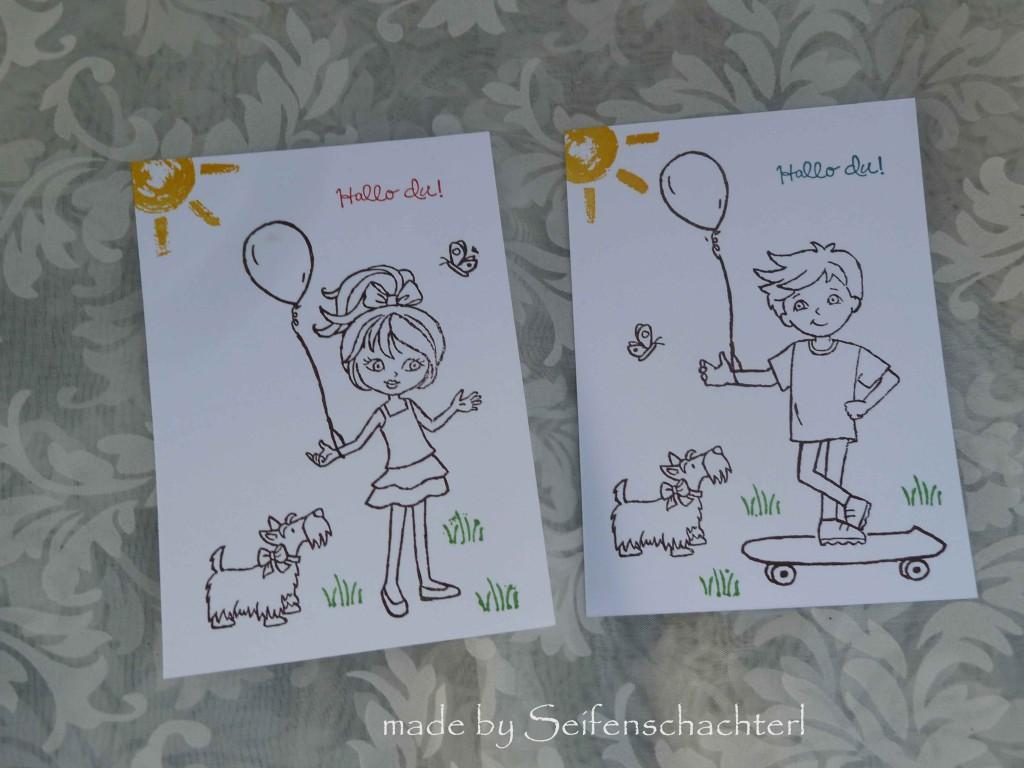 Postkarten-Kinder